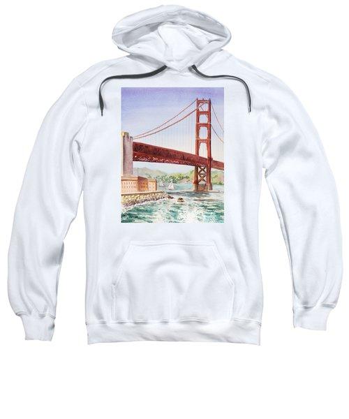 Golden Gate Bridge San Francisco Sweatshirt