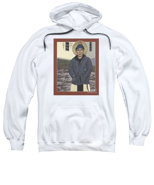 Holy World Evangelist Thomas Merton 267 Sweatshirt