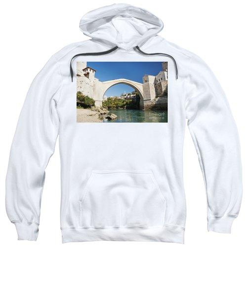 Mostar Bridge In Bosnia Sweatshirt