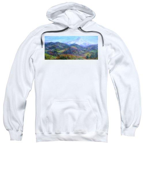 Mountain Patchwork Sweatshirt