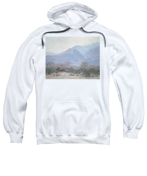Palm Springs Landscape With Shack Sweatshirt