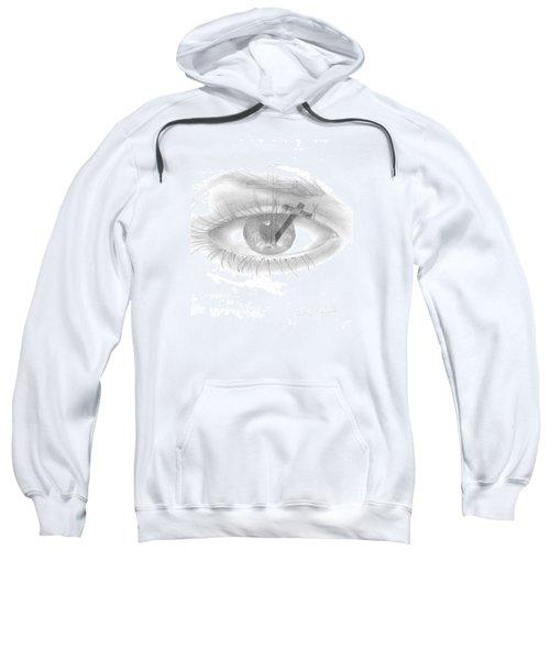 Plank In Eye Sweatshirt
