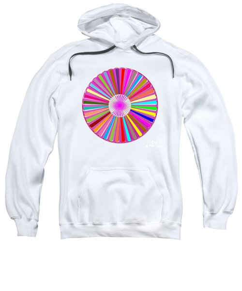 Colorful Signature Art Chakra Round Mandala By Navinjoshi At Fineartamerica.com Rare Fineart Images  Sweatshirt