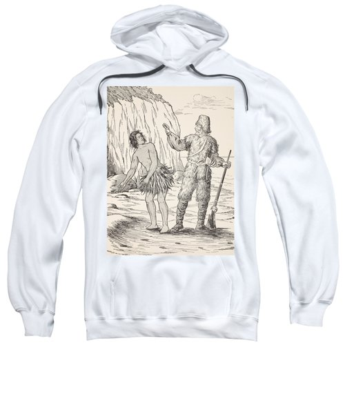 Robinson Crusoe And Friday Sweatshirt