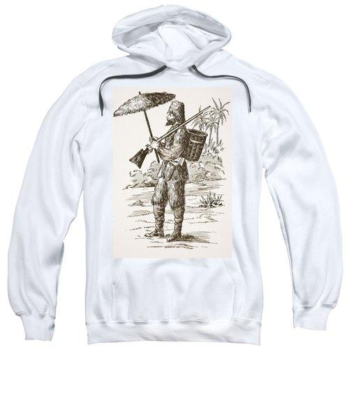 Robinson Crusoe, Illustration From The Sweatshirt