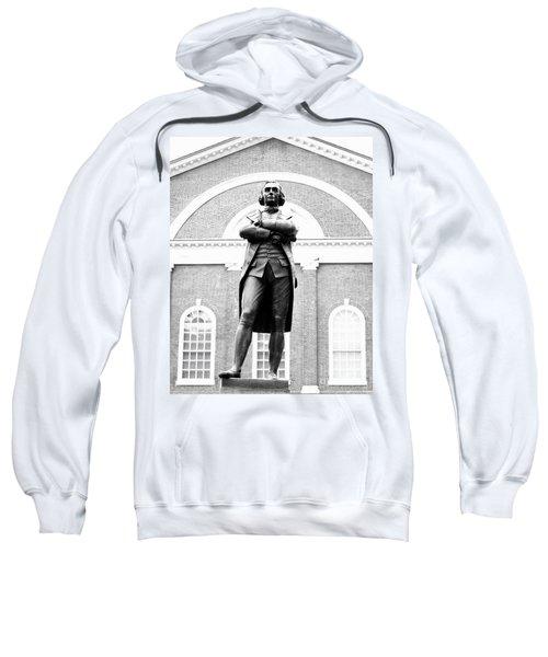 Samuel Adams Statue, State House Boston Ma Sweatshirt
