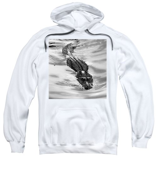 Swimming Gator Sweatshirt