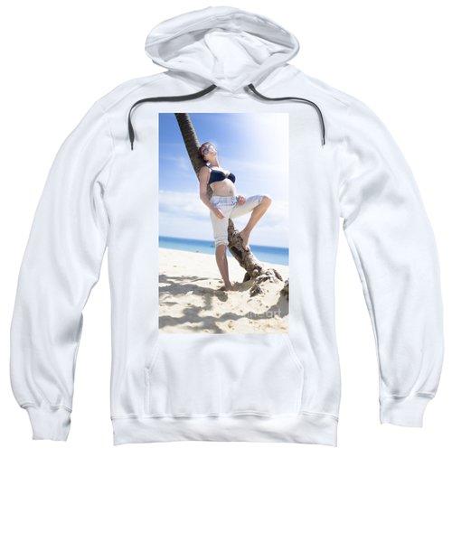 Tropical Island Paradise Sweatshirt