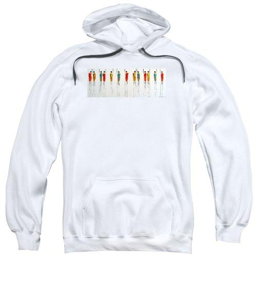 Vibrant Masai Warriors - Original Artwork Sweatshirt