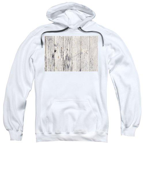 Weathered Paint On Wood Sweatshirt