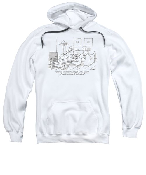 Once This Commercial Sweatshirt