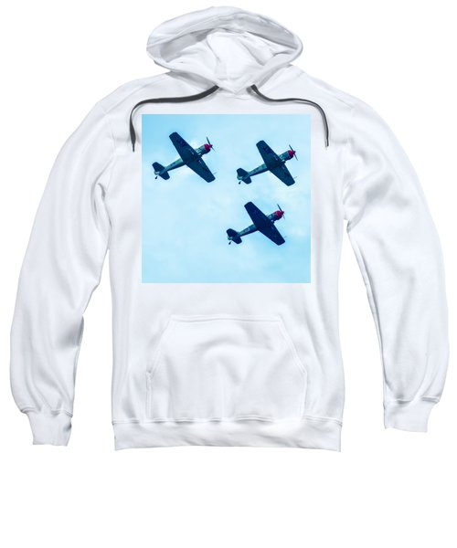 Action In The Sky During An Airshow Sweatshirt