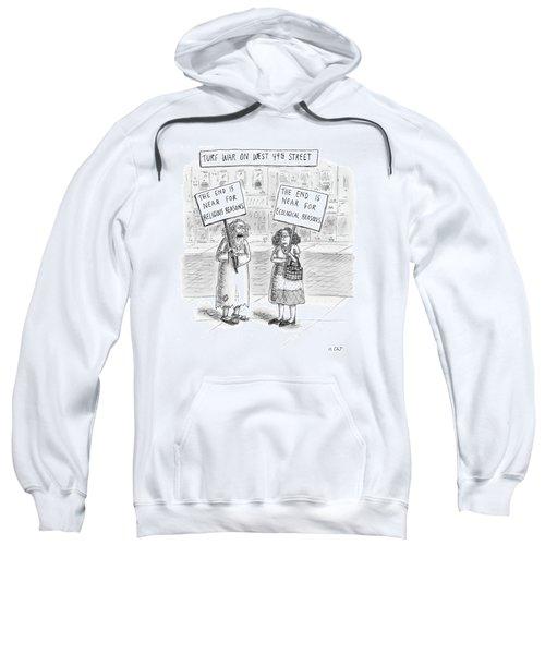 Turf War On West 49th Street Sweatshirt