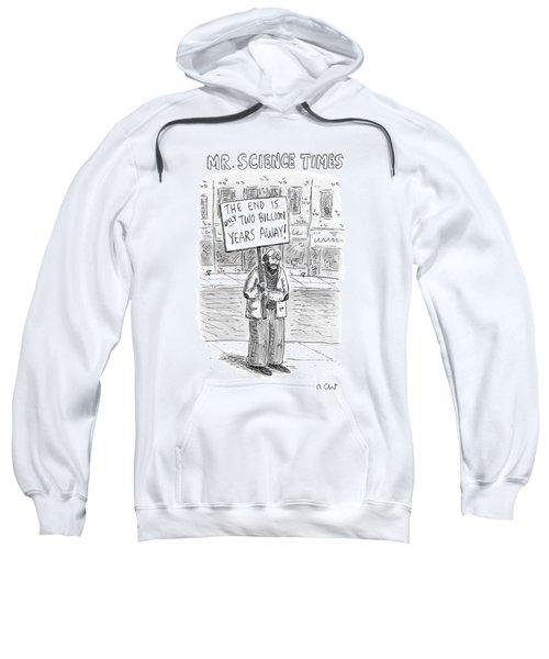 Mr. Science Times Sweatshirt