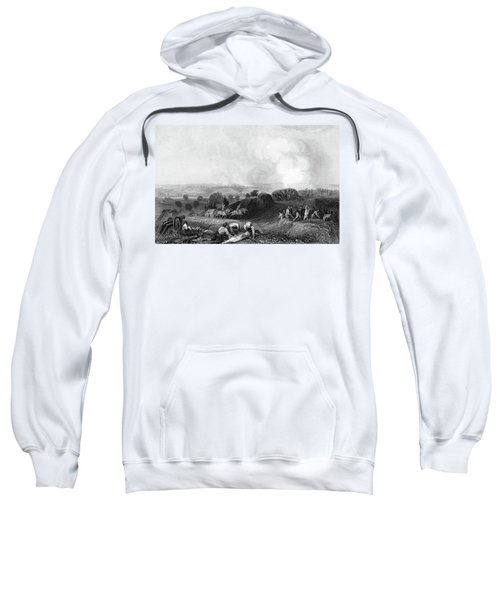 1770s Battle Ground At Stillwater 1777 Sweatshirt