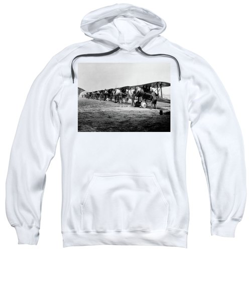 1918 Flight Line Of American Sweatshirt
