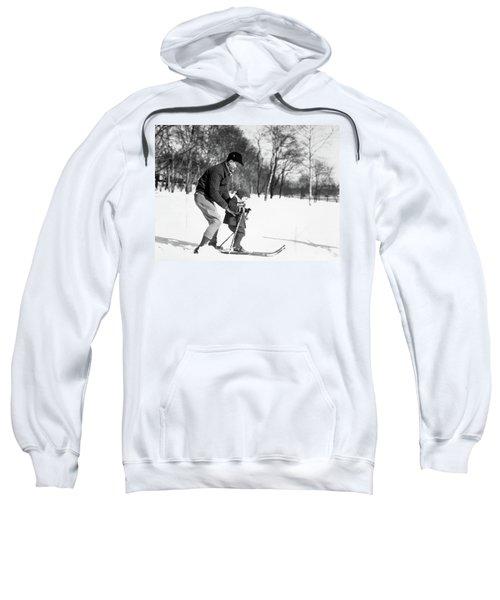 1930s Father & Son Man Wearing Jacket Sweatshirt