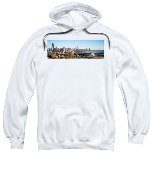 Chicago, Illinois, Usa Sweatshirt by Panoramic Images