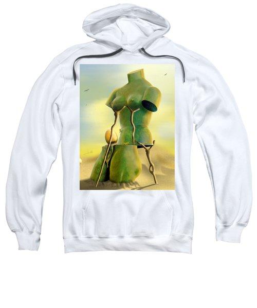 Crutches Sweatshirt