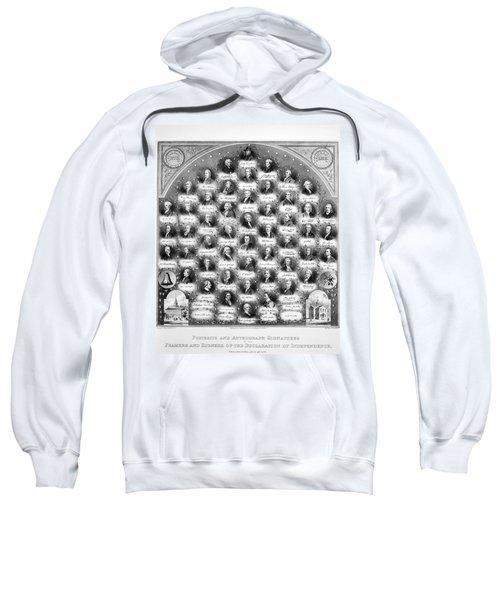 Declaration Of Independence Sweatshirt