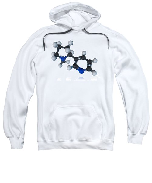 Nicotine Molecular Model Sweatshirt