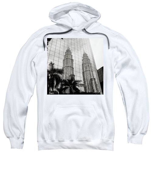 Petronas Towers Reflection Sweatshirt