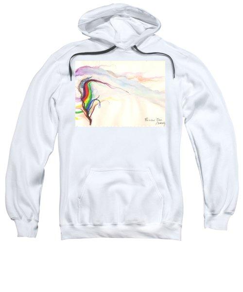Rainbow Tree Sweatshirt