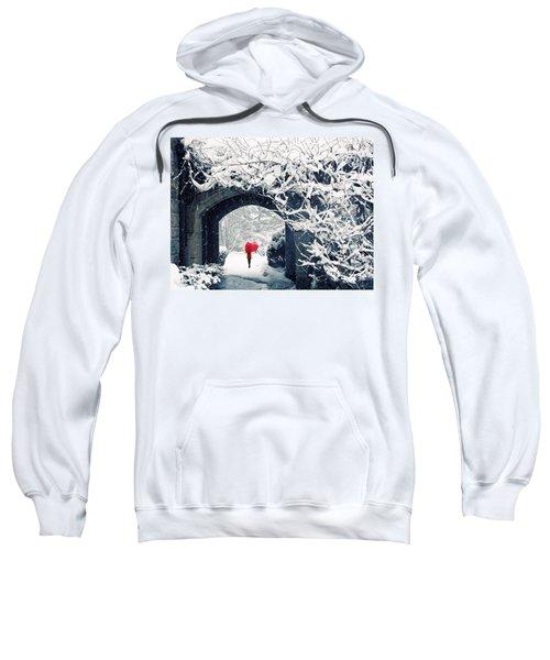 Winter's Lace Sweatshirt