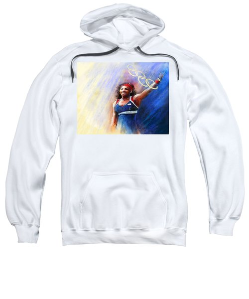 2012 Tennis Olympics Gold Medal Serena Williams Sweatshirt