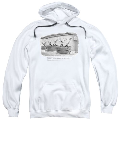 Pete Townshend Vineyards Sweatshirt