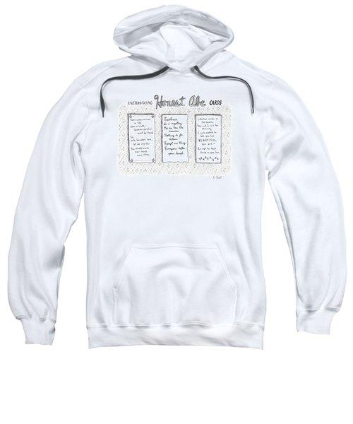 Introducing Honest Abe Cards Sweatshirt