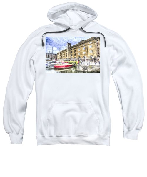 St Katherines Dock London Sweatshirt