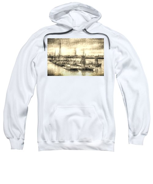 River Thames Boat Community Sweatshirt