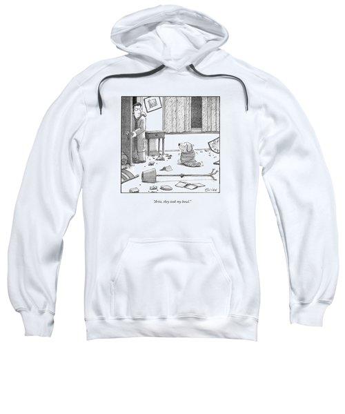 Artie, They Took My Bowl Sweatshirt
