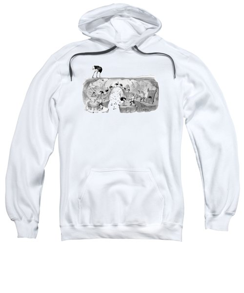New Yorker October 31st, 2016 Sweatshirt by Will McPhail