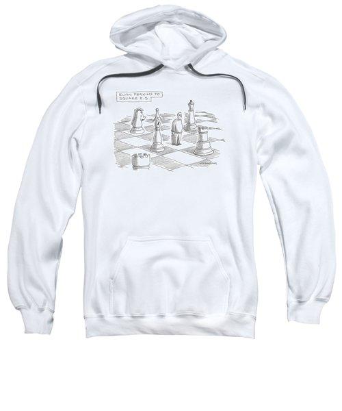 Elvin Perkins To Square E-5 Sweatshirt