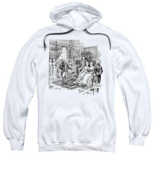 Franklin At Versailles Sweatshirt