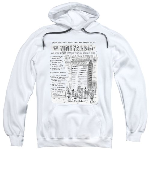 The Vineyardia Sweatshirt