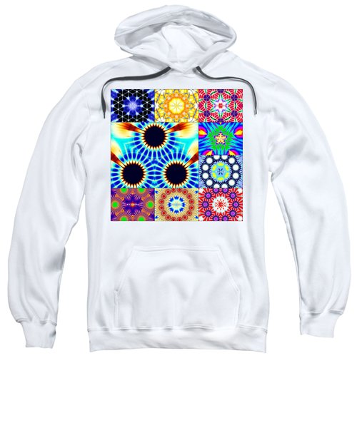 432hz Cymatics Grid Sweatshirt