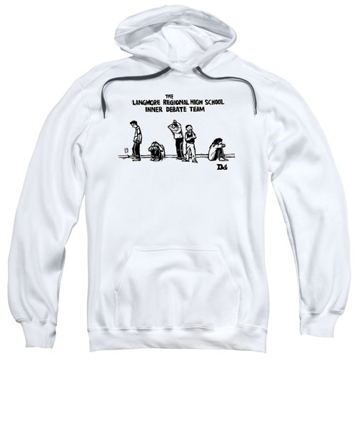 The Langmore Regional High School Inner Debate Sweatshirt