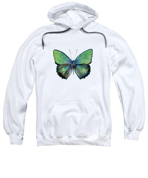 52 Arhopala Aurea Butterfly Sweatshirt