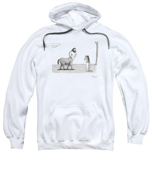 New Yorker September 7th, 2009 Sweatshirt by Zachary Kanin