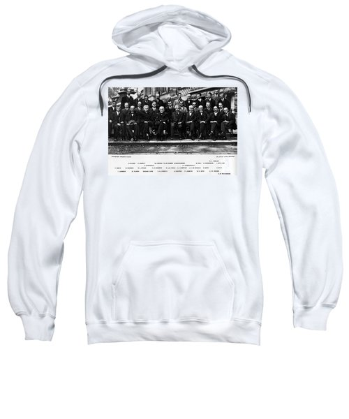 5th Solvay Conference Of 1927 Sweatshirt