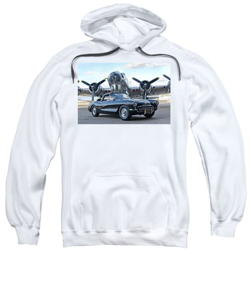 1957 Chevrolet Corvette Sweatshirt