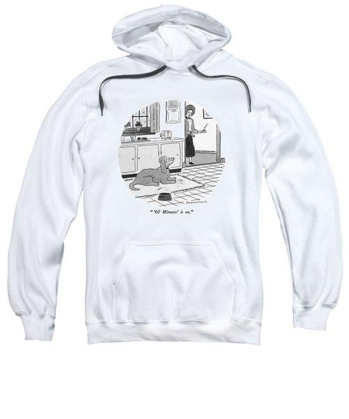'60 Minutes' Is On Sweatshirt