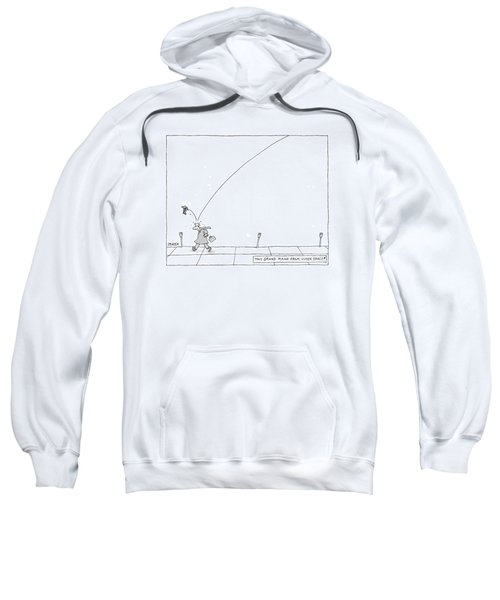 Tiny Grand Piano From Outer Space! Sweatshirt