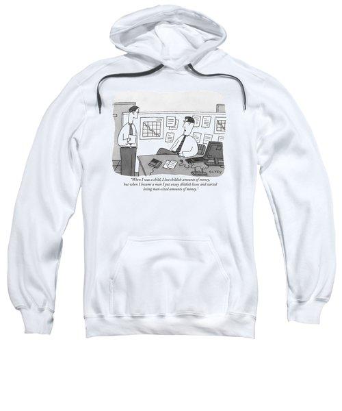 When I Was A Child Sweatshirt