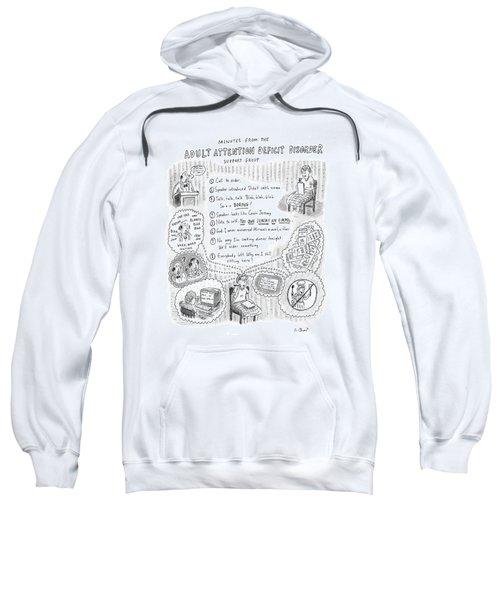 Adult Attention Deficit Disorder Sweatshirt