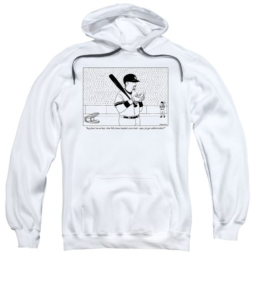 A Baseball Player Yankees Twitters Sweatshirt