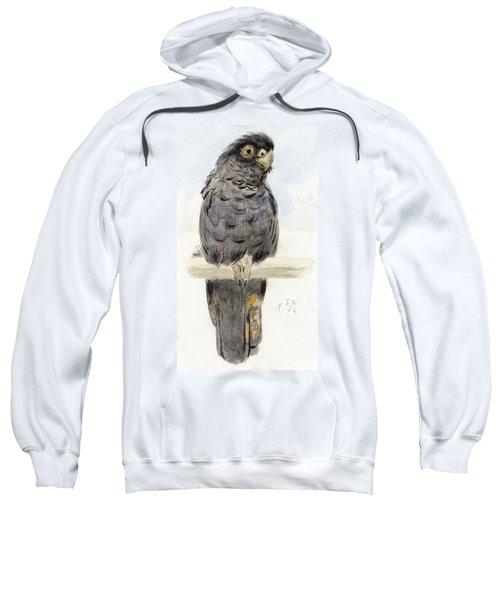 A Black Cockatoo Sweatshirt